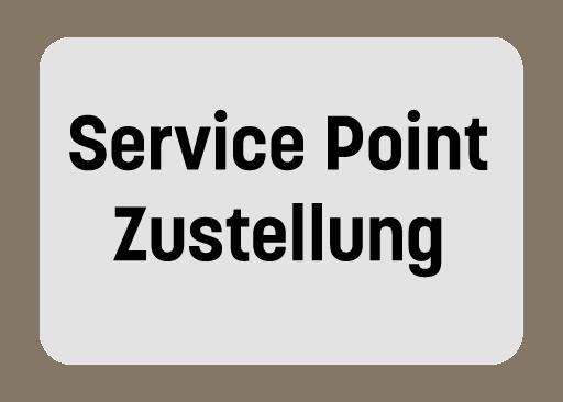 Service Point Zustellung Deutschland